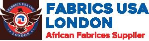 fabrics usa london logo